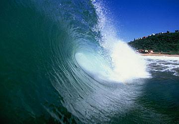 uma das ondas mais tubulares da Africa